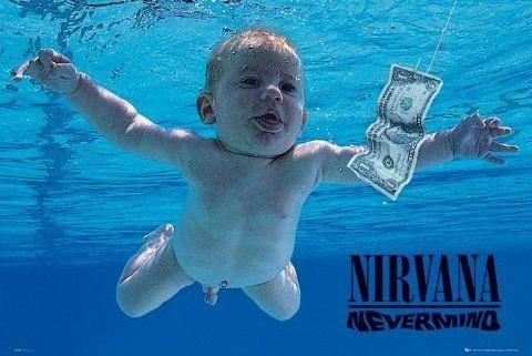 Nirvana - nevermind Plakat
