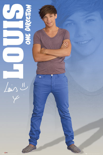 One Direction - louis 2012 Plakat