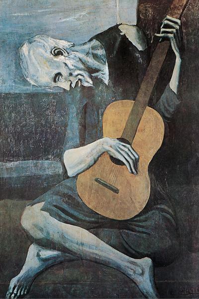 Pablo PICASSO Pablo-picasso-old-guitarist-i28674