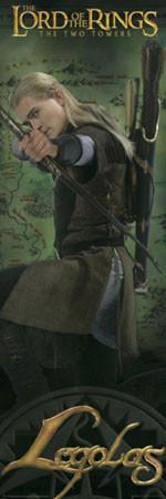 PÁN PRSTENŮ  – Legolas Plakat