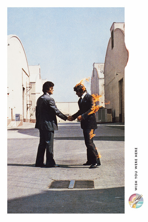 Pink Floyd - wish you were here Plakat