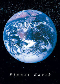 PLANET EARTH Plakat