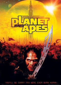 PLANET of APES - thade sw. Plakat