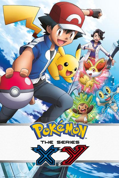 Pokémon - X & Y Plakat