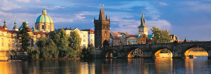 Prague – Prague bridges Plakat