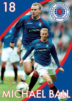 Rangers - ball Plakat