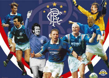Rangers - legends Plakat