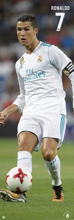 Plakat Real Madrid FC - Cristiano Ronaldo