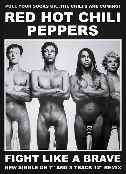 Red hot chili peppers - fight like a brave Plakat