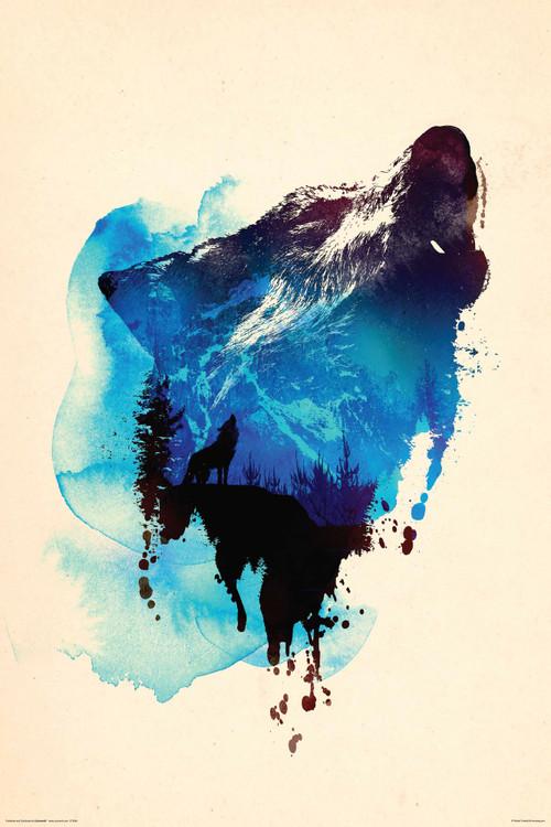 Robert Farkas - Wolf Plakat