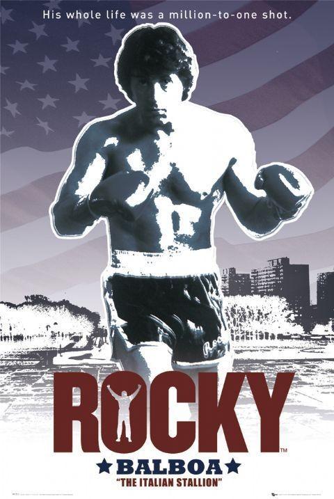ROCKY - flag Plakat