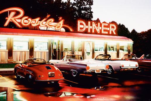 Rosie's diner - colour Plakat