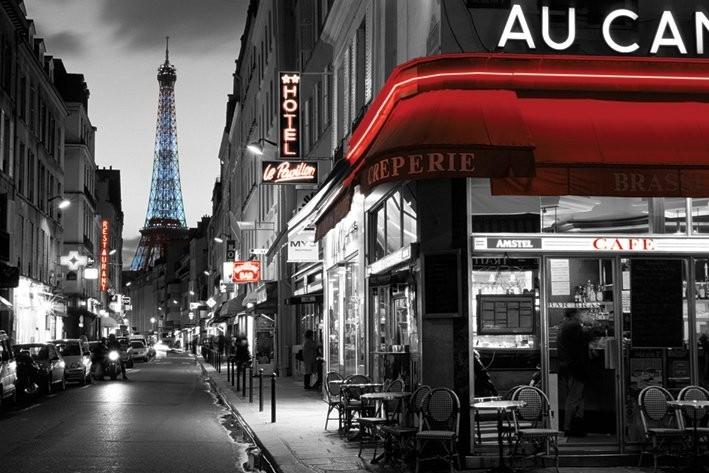 Rue Parisienne Plakat