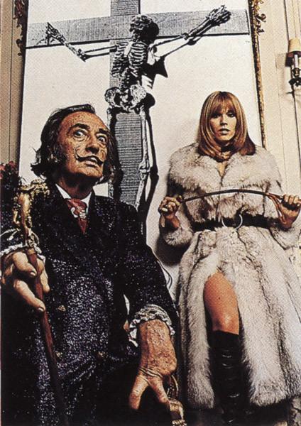 Salvador Dali Portrait Plakat Poster På Europostersdk