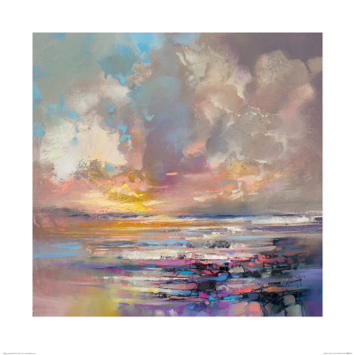 Scott Naismith - Radiant Energy Kunsttryk