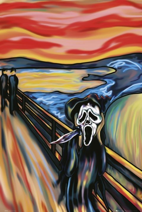 Scream the scream Plakat