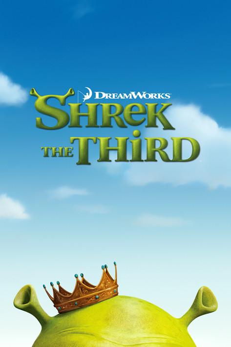 SHREK 3 - teaser Plakat