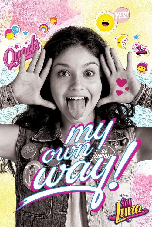 Soy Luna - My Own Way Plakat