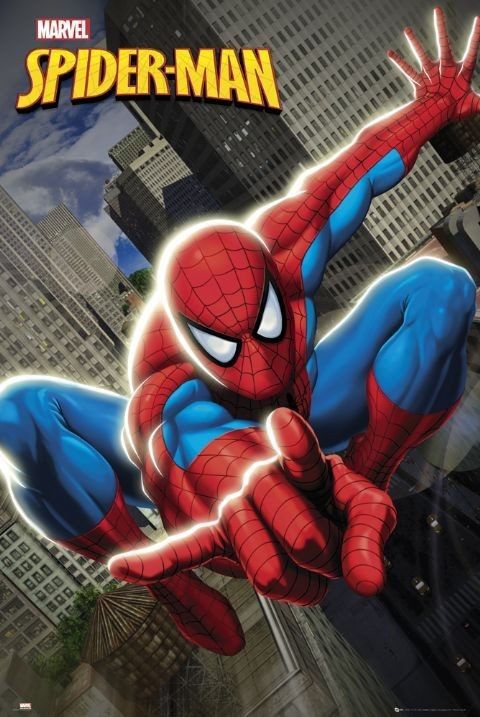 SPIDER-MAN - swinging Plakat