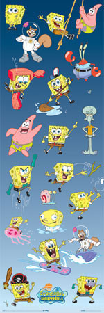 SPONGEBOB - multiple Plakat