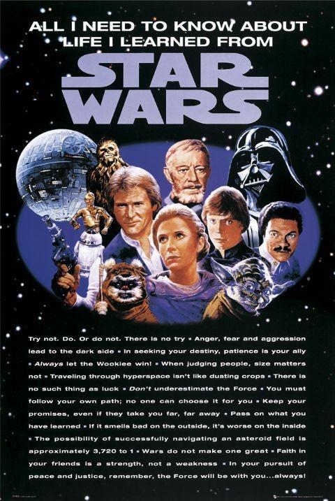 STAR WARS - all i need Plakat