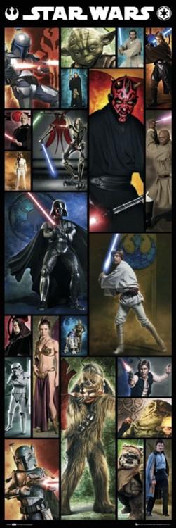 STAR WARS - compilation Plakat