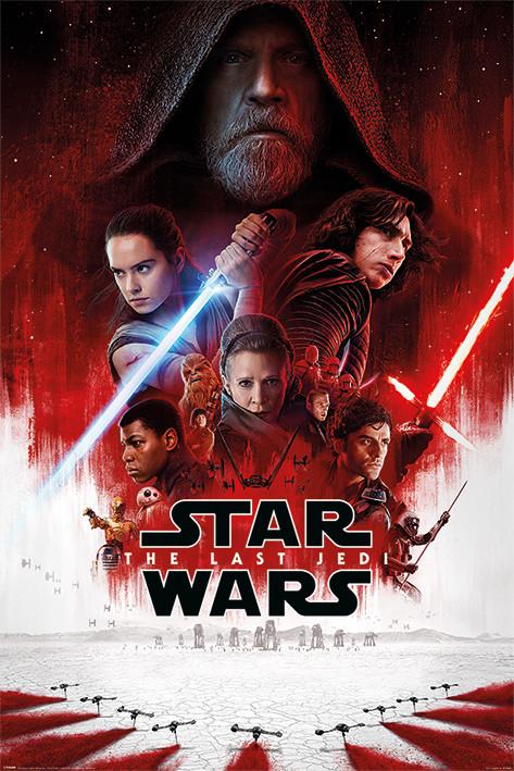 Star Wars: Episode 8 The last Jedi- One Sheet Plakat