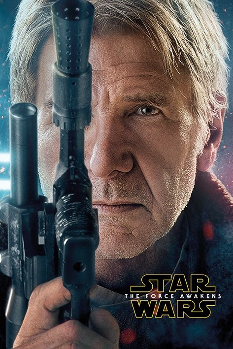 Star Wars Episode VII: The Force Awakens - Hans Solo Teaser Plakat