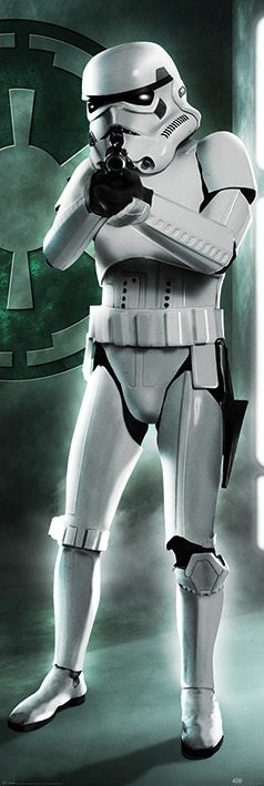Star Wars - Original Trilogy Stormtrooper Plakat