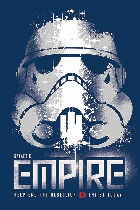 Star Wars Rebels - Enlist Plakat