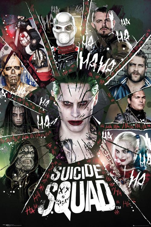 Suicide Squad - Circle Plakat