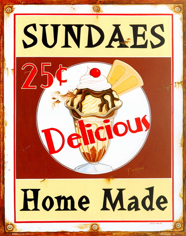 Sundaes Reproduktion
