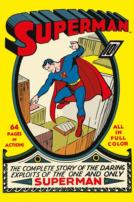 SUPERMAN - no.1 Plakat