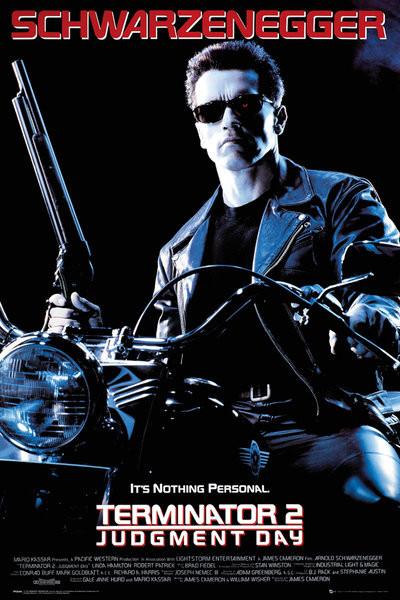 Terminator 2 - One Sheet Plakat