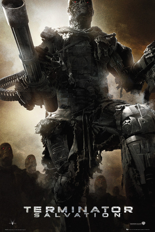 TERMINATOR SALVATION - Army Plakat