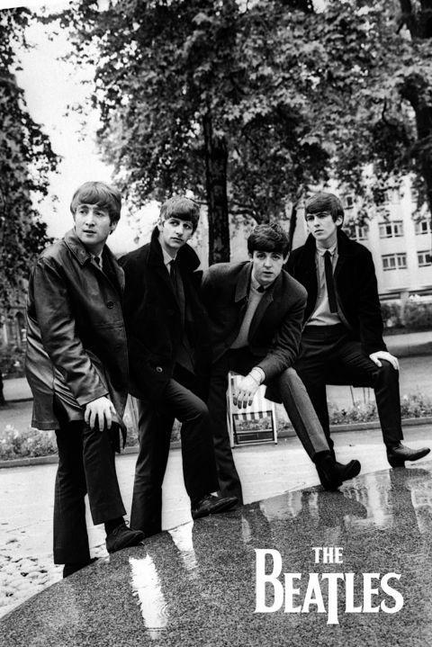 The Beatles - Pose Plakat