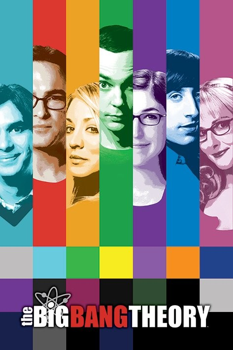 THE BIG BANG THEORY - signals Plakat