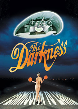 the Darkness - album Plakat
