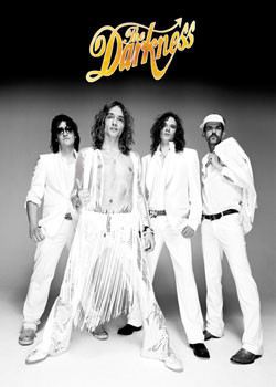the Darkness - group Plakat