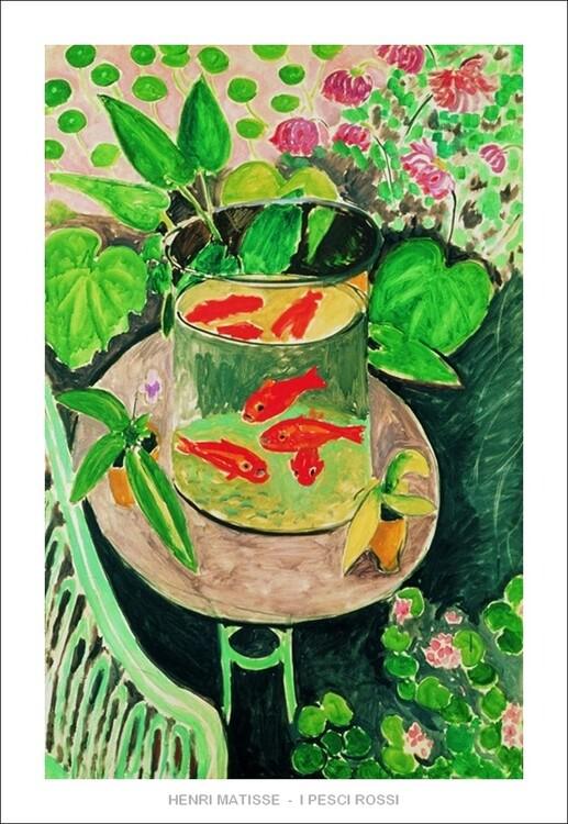 The Goldfish, 1912 Kunsttryk