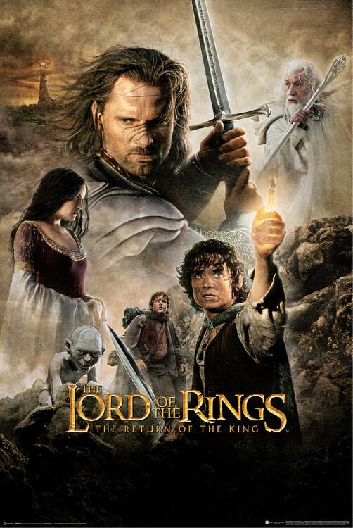 Plakat The Lord of the Rings - Kongen kommer tilbake