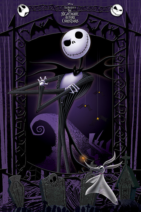 The Nightmare Before Christmas - It's Jack Plakat