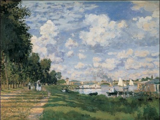 The Seine Basin at Argenteuil Kunsttryk