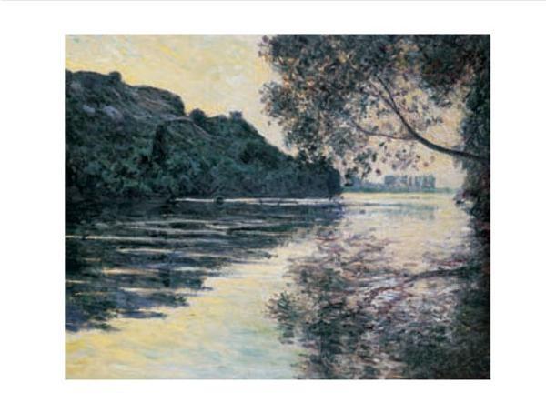 The Sun on The Seine Kunsttryk