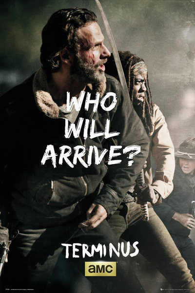 The Walking Dead - Rick and Michonne Survive Plakat
