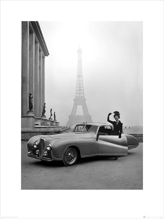Time Life - France 1947 Kunsttryk