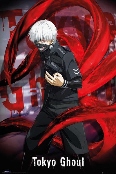 Plakat Tokyo Ghoul - Ken Kaneki