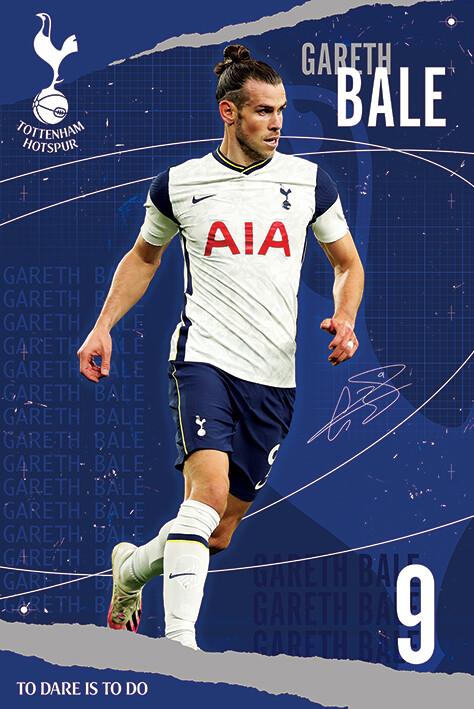 Tottenham Hotspur FC - Bale Plakat