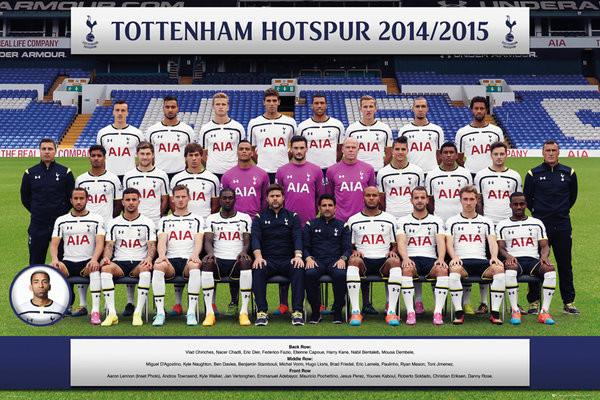 Tottenham Hotspur FC - Team Photo 14/15 Plakat