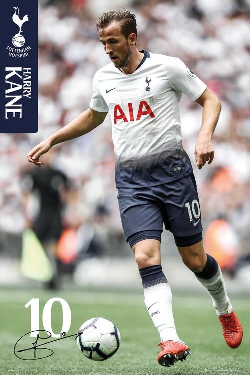 Tottenham - Kane 18-19 Plakat